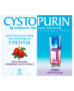 Cystopurin 3g Granules for Oral Solution with Natural Cranberry Juice Extract 6 Sachets