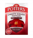 Potter's Chesty Cough Pastilles Non-Drowsy 20 Pastilles